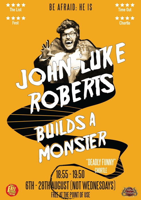 2016 - John-Luke Roberts Builds A Monster