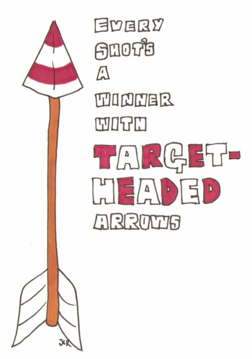 Target Headed Arrows - John-Luke Roberts