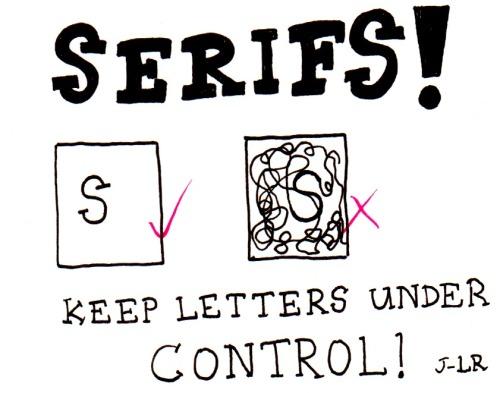 Serifs - John-Luke Roberts