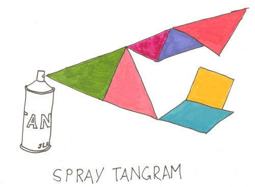 Spray Tangram